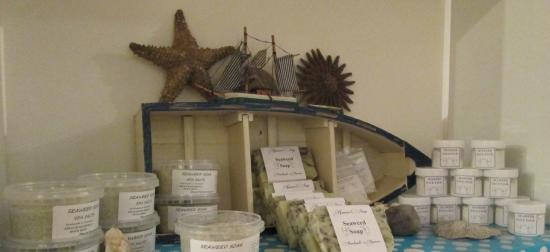 Kenmare Soap Shop: Our detox seaweed products