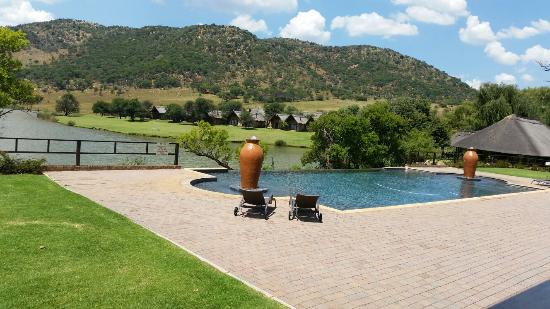 Kloofzicht Lodge & Spa: What a nice view.