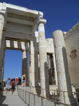 Propylaea/Propylon of the Acropolis, Athens - Picture of ...