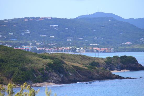 Sugar Beach Condo Resort: View from the east side of the island