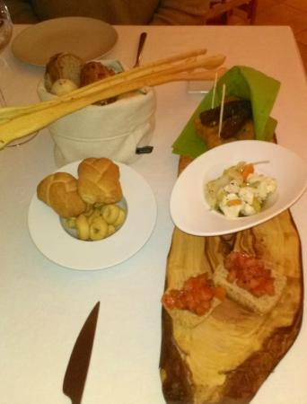 Villa Chiara Orto & Cucina: Compliments of the chef