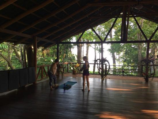 Encanta La Vida: Yoga Deck