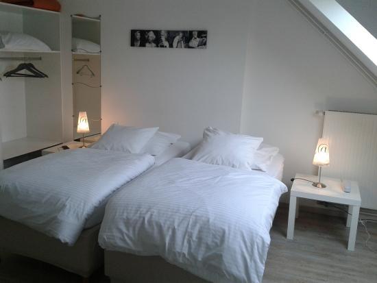 Hotel Des Bois : Chambre Deux Lits