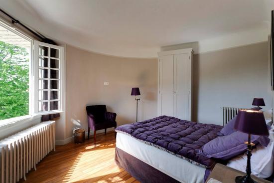 Les Chapelles-Bourbon, Fransa: Chambre double