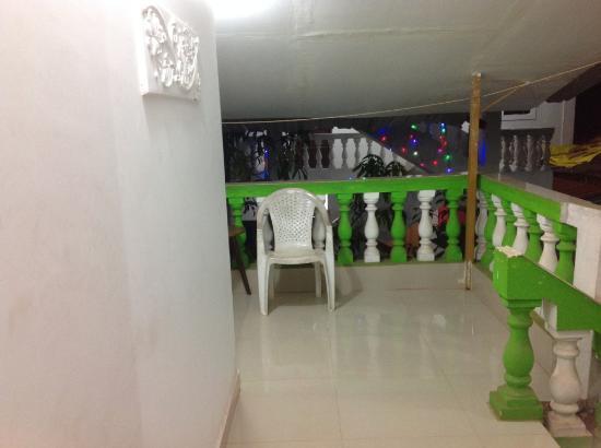 Gabriels Guest House: Balcony