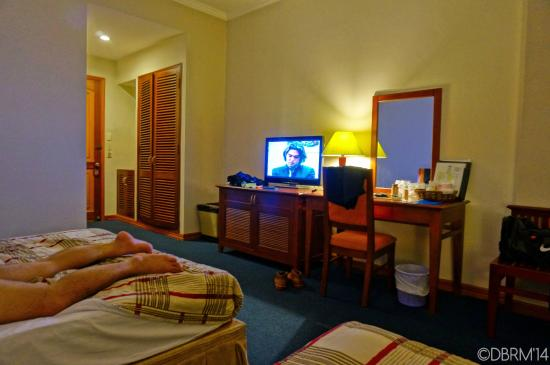 Saigon Royal Hotel: when we arrived past midnight