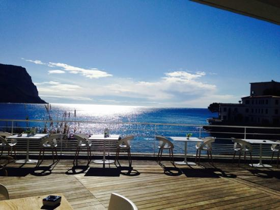 Hotel de la Plage Mahogany: Terrasse panoramique