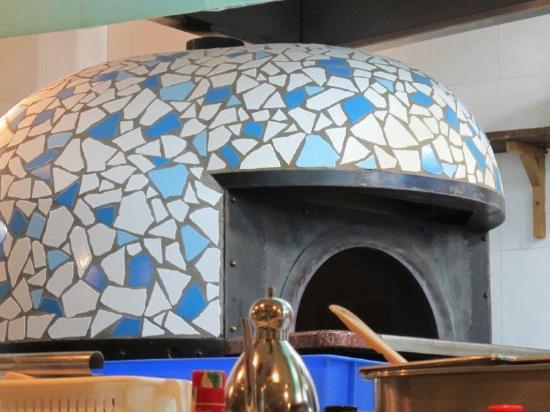Bei LvDao Italian MingCai Restaurant: ピザの窯