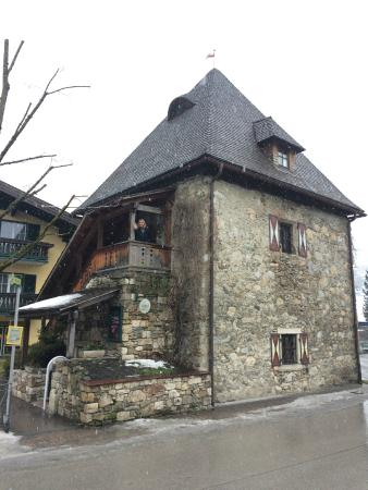 Landhotel Römerhof: The stone tower apartment dating to 1360