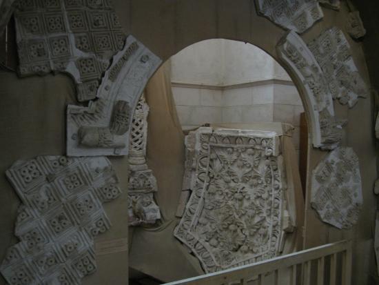 Rockefeller Archeological Museum: Реконструкция Иерихонского дворца