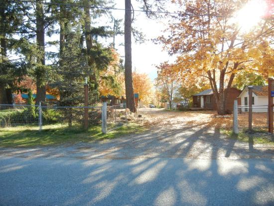 Entrance To Blue Mountain Lodge
