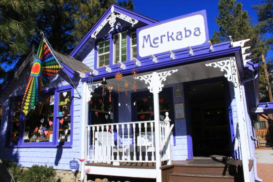 Idyllwild, CA: Outside Merkaba.