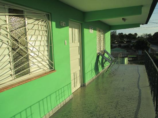 Villa Vueltabajo: The front porch