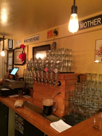 Mother Road Brewing Company : Very nice bar at Mother Road Brewing