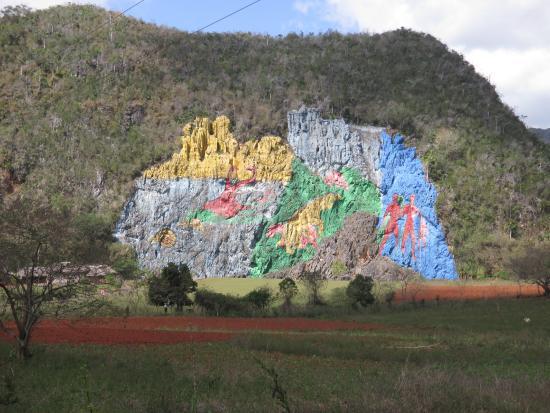 Comida picture of mural de la prehistoria vinales for Mural de la prehistoria