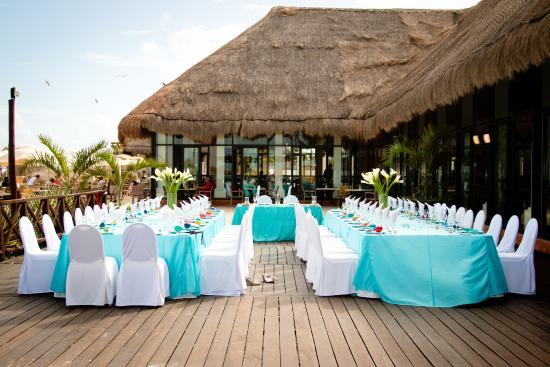 Now Shire Riviera Cancun Wedding Photo Resort