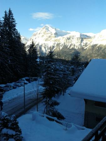 Chalet Deux Freres : view from the chalet balcony