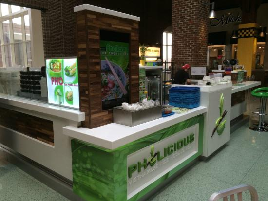 Pholicious In The Food Court Of The Southpoint Mall In Durham