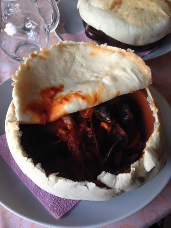 Avalon La Locanda Del Re: Tagliolini in crosta