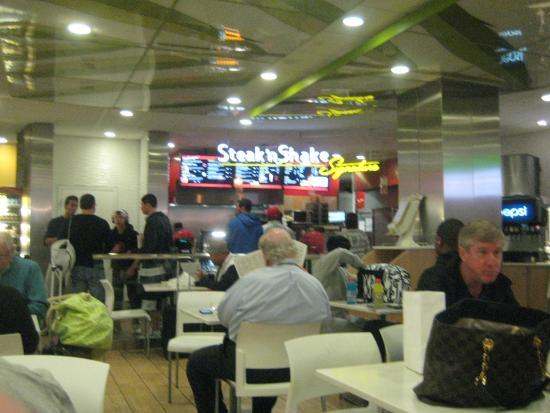 Steak N Shake Fort Lauderdale 100 Terminal Dr Restaurant