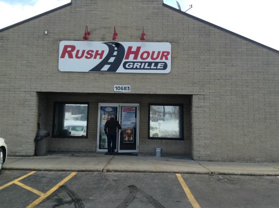 Rush Hour Grille: Welcome to the Rush Hour Bar and Grille