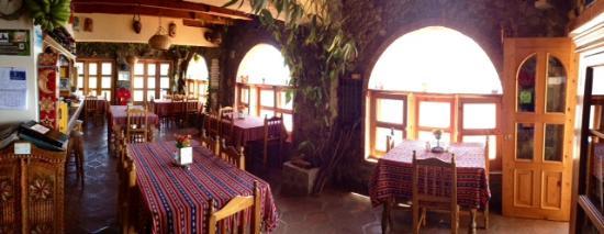 La Casa del Mundo Hotel: Restaurante