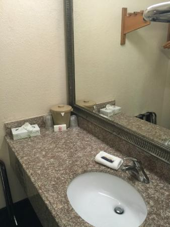 Red Roof Inn Galveston - Beachfront/Convention Center : Vanity