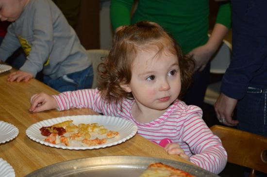 Saco Valley Sports Center: Yummy pizza