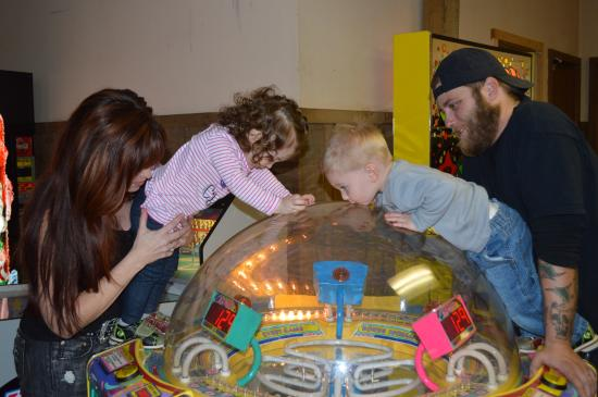 Saco Valley Sports Center: Two Babies Playing