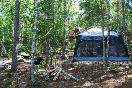Riverside Island Campsites