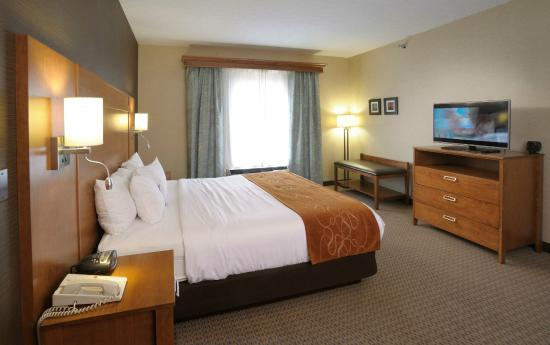 Comfort Suites Berlin Hotel & Conference Center: Executive Suite bedroom