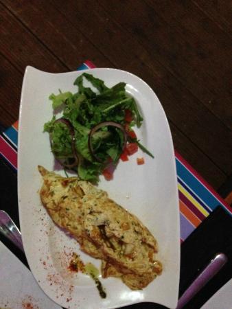 La Terrasse: Omelette d'oursins