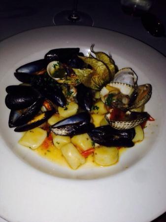 Cucina Italiana : gnocci di mare
