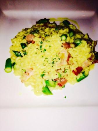 Cucina Italiana : risotto pancetta