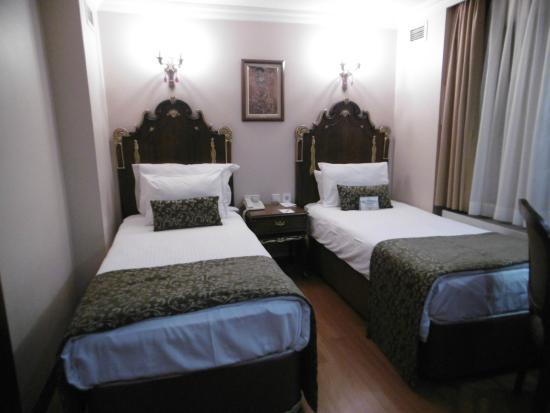 Ickale Hotel: La chambre