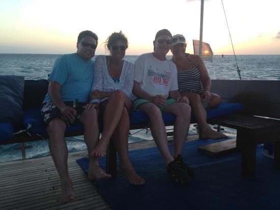 Strea Charters: Sunset