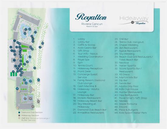 Map - Picture of Hideaway At Royalton Riviera Cancun, Puerto ... Cancun Resort Maps on cancun strip, cancun clubs, cancun shopping, cancun diving, cancun beach, cancun all inclusive resorts, cancun rooms, cancun mexico, cancun iberostar paraiso maya, cancun fotos, cancun party, cancun weather, cancun hotels, cancun spa, cancun parasailing, cancun activities, cancun night, cancun animals,