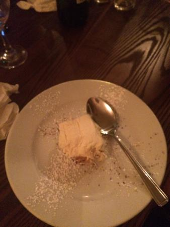 Bistro Jacques : This is the cheesecake that came. At this point I had not had one slice!