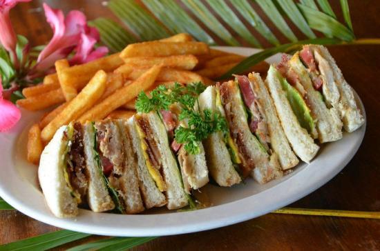 Lucky Horseshoe: Classic Club Sandwich