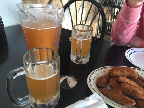 Post Corner Pizza : The pitcher of shock top on draft was 10.50 and got my hubby and I nice and buzzed!!