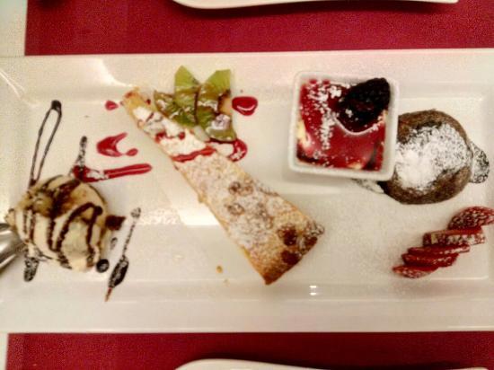 L\'assaggio di dolci per 1 !!!!! - Bild von 4 mori - la mia cucina ...