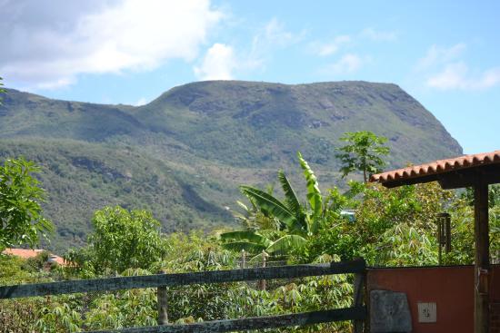 Serra Azul de Minas, MG: Vista da janela do quarto