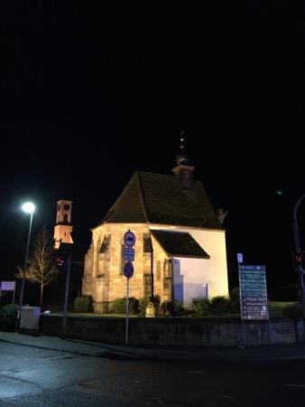 Alte Kapelle at Night--beautiful!