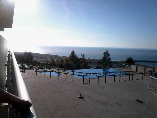 Hotel Miramar Sul : Vista da varanda do quarto.