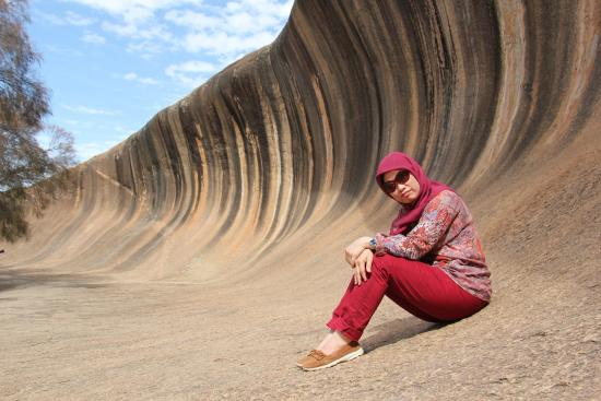 Norwood, Australien: amazing wave rock
