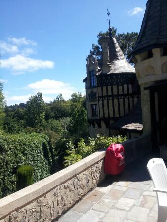 Thorngrove Manor Hotel: Queens Balcony view