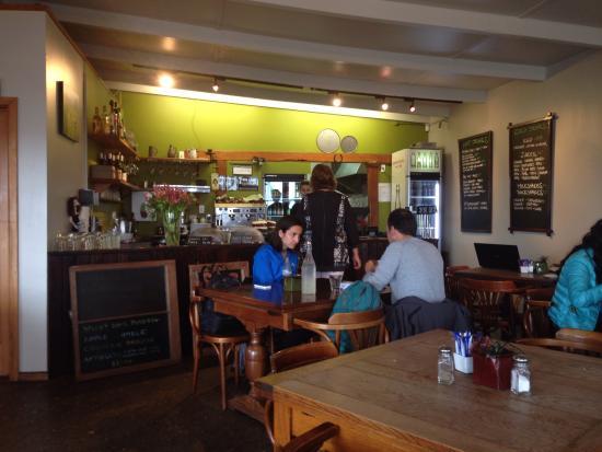 Cafe Neve: The bar