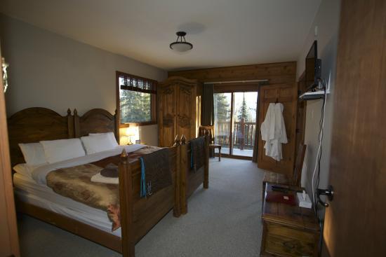 Winston Lodge & Spa: A bedroom