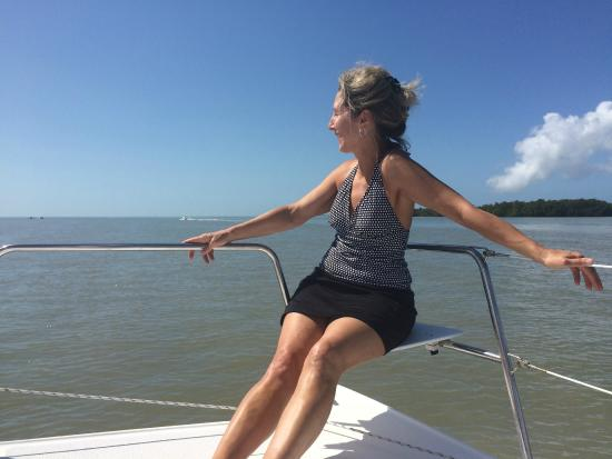 TropicBird Ecotours: relaxing on deck