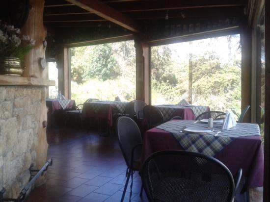 Hotel Bergland: Restaurante